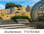 view of the outside of plaza de ... | Shutterstock . vector #771741565