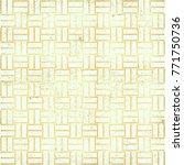 polka gold dot pattern.... | Shutterstock . vector #771750736