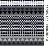 geometric ethnic pattern...   Shutterstock .eps vector #771765712