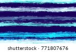 seamless watercolor stripes... | Shutterstock .eps vector #771807676