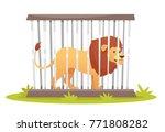 vector cartoon style... | Shutterstock .eps vector #771808282