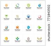 creative logo collection  logo... | Shutterstock .eps vector #771843502