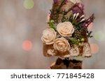 new year's decoration handmade...   Shutterstock . vector #771845428