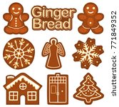 Christmas Ginger Bread Cookie...