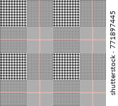 prince of wales   glen plaid... | Shutterstock .eps vector #771897445