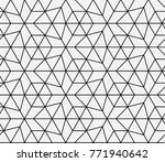 seamless islamic pattern vector ... | Shutterstock .eps vector #771940642