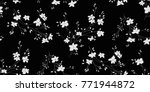 seamless floral pattern in... | Shutterstock .eps vector #771944872