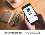 chonburi  thailand   december... | Shutterstock . vector #771996136