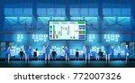 business team work success...   Shutterstock .eps vector #772007326
