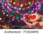 do good things. create well... | Shutterstock . vector #772026892