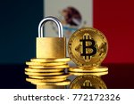 physical version of bitcoin ... | Shutterstock . vector #772172326