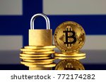physical version of bitcoin ... | Shutterstock . vector #772174282