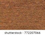 knitting wool texture... | Shutterstock . vector #772207066