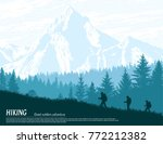 abstract background. forest... | Shutterstock .eps vector #772212382