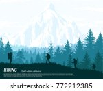 abstract background. forest... | Shutterstock .eps vector #772212385