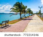 causeway amador in panama city | Shutterstock . vector #772214146