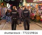 frankfurt am main  hessen ...   Shutterstock . vector #772219816