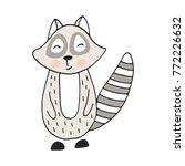 cute hand drawn nursery poster... | Shutterstock .eps vector #772226632