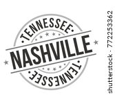 nashville tennessee usa quality ... | Shutterstock .eps vector #772253362