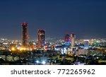 modern buildings in abdali area ... | Shutterstock . vector #772265962