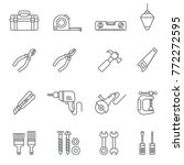 construction tool icon... | Shutterstock .eps vector #772272595