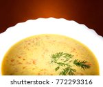 hot asian soup studio quality | Shutterstock . vector #772293316