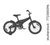 kid's bike for boys. vector... | Shutterstock .eps vector #772300396