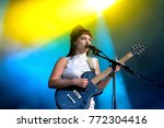 barcelona   jun 3  angel olsen  ... | Shutterstock . vector #772304416