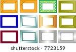 frame   Shutterstock .eps vector #7723159