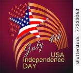 american flag | Shutterstock .eps vector #77233063