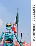 mexico city   november 02  2017 ... | Shutterstock . vector #772332652