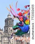 mexico city   november 02  2017 ... | Shutterstock . vector #772332655