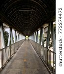 tunnel of the overpass | Shutterstock . vector #772374472