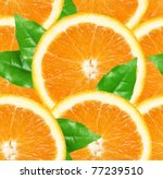 Orange Slices Seamless...