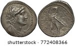 seleucid empire silver coin... | Shutterstock . vector #772408366