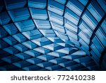 Abstract Architecture  Blue...
