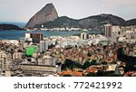 panoramic view of rio de... | Shutterstock . vector #772421992