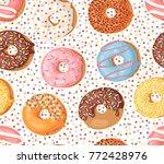 cartoon vector illustration... | Shutterstock .eps vector #772428976