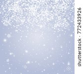 merry christmas and new year... | Shutterstock . vector #772433926