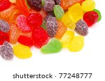 Colorful Candy Isolated On...