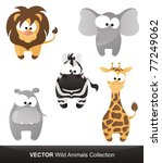 Wild Animals Vector Collection