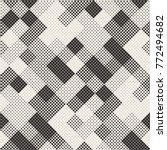 modern stylish halftone texture.... | Shutterstock .eps vector #772494682