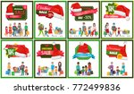 Eight Christmas Sale Banners...