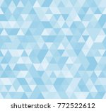 seamless blue abstract pattern. ... | Shutterstock .eps vector #772522612