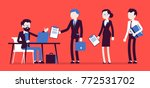 certification official act.... | Shutterstock .eps vector #772531702