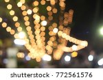 the blur background of light in ... | Shutterstock . vector #772561576
