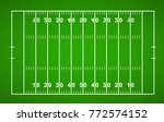 american football field.... | Shutterstock .eps vector #772574152
