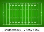 american football field.... | Shutterstock .eps vector #772574152