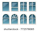 vector collection of various... | Shutterstock .eps vector #772578085