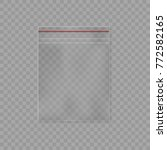 plastic packet bag   Shutterstock .eps vector #772582165